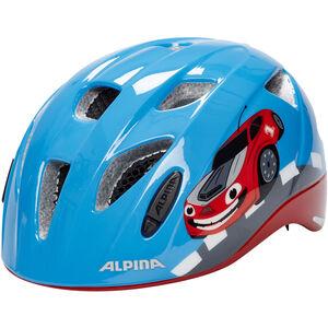 Alpina Ximo Flash Helmet Kinder red car red car