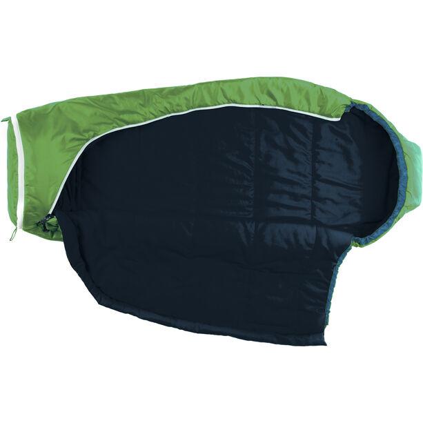Grüezi-Bag Biopod Wool World Traveller Sleeping Bag Kinder holly green