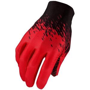 Supacaz SupaG Handschuhe langfinger schwarz/rot schwarz/rot
