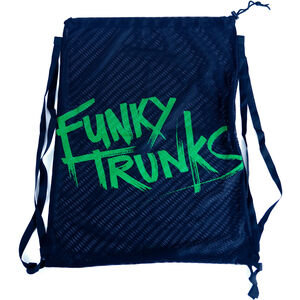 Funky Trunks Mesh Gear Bag still black still black