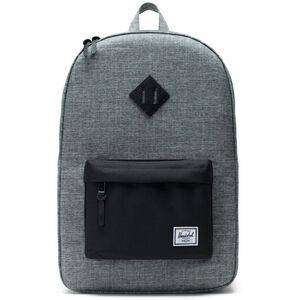Herschel Heritage Backpack raven crosshatch/black raven crosshatch/black
