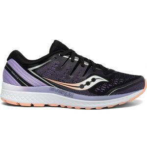 saucony Guide ISO 2 Schuhe Damen black/purple black/purple