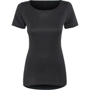 SQUARE Sport Rundhalstrikot kurzarm Damen black black