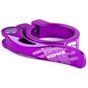 Sixpack Menace Sattelklemme Ø34,9mm dusk purple dusk purple