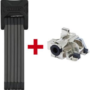 ABUS Bordo 6015 + Bosch Plus GT Faltschloss 120cm für Gepäckträger-Akku SH 6000/120