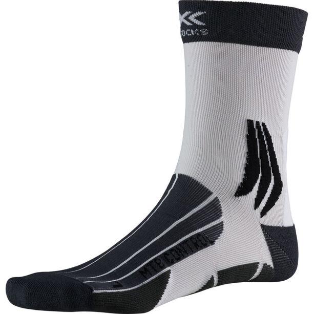 X-Socks MTB Control Socks charcoal/arctic white