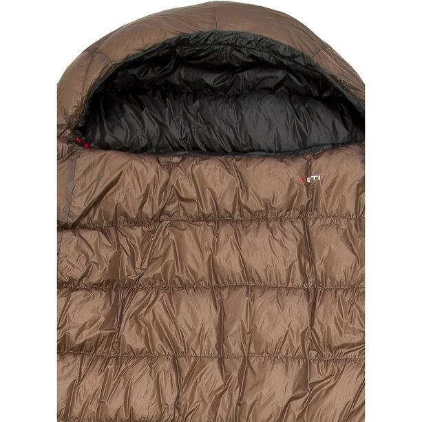 Yeti Passion Three Sleeping Bag XL brown/black