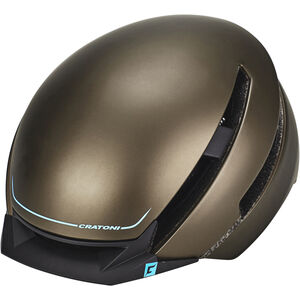 Cratoni C-Loom Helmet brown-blue rubber brown-blue rubber
