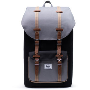 Herschel Little America Backpack black/grey/pine bark/tan black/grey/pine bark/tan