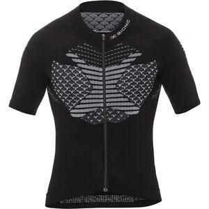 X-Bionic Twyce Fahrrad Trikot SS Full-Zip Herren black/white black/white