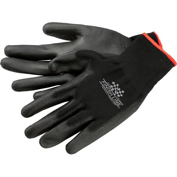 Finish Line Mechaniker-Handschuhe L/XL schwarz