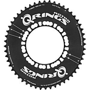Rotor Q-Ring Road Aero Kettenblatt 110mm 5-Arm außen schwarz bei fahrrad.de Online