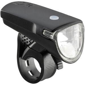 Axa GreenLine 35 LED-Akkuscheinwerfer inkl USB Kabel schwarz schwarz