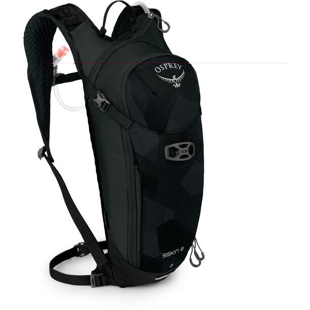 Osprey Siskin 8 Hydration Backpack Herren obsidian black
