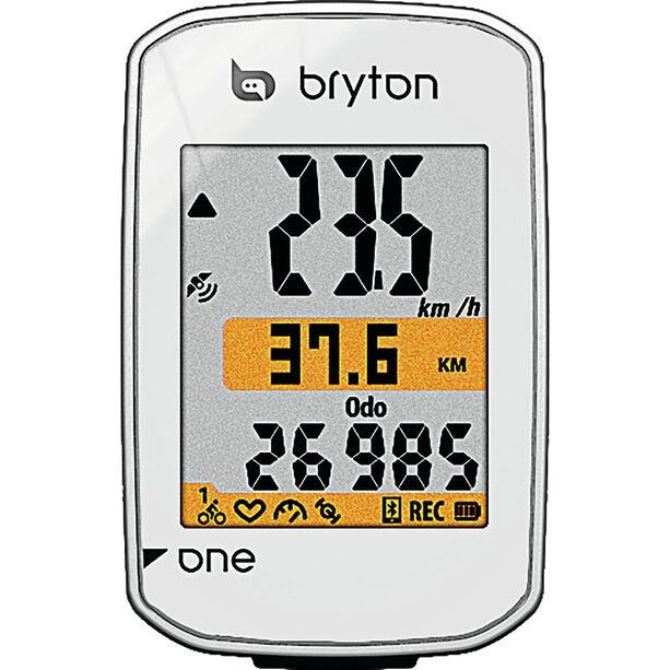 Bryton Rider One E Fahrradcomputer weiß
