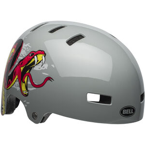 Bell Span Helmet Kinder viper dark gray/red viper dark gray/red