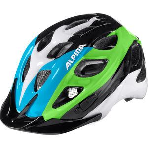 Alpina Rocky Helmet Kids black-blue-green bei fahrrad.de Online