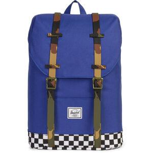 Herschel Retreat Backpack Youth Deep Ultramarine/Checker/Woodland Camo