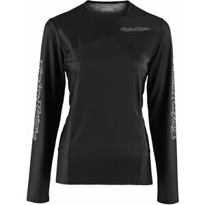 Troy Lee Designs Skyline LS Jersey Damen black black