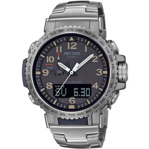 CASIO PRO TREK PRW-50T-7AER Watch Men silver/anthracite silver/anthracite
