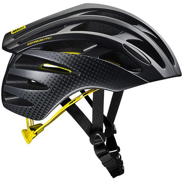 Mavic Ksyrium Pro MIPS Helmet Herren black/yellow mavic