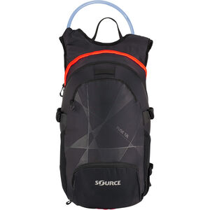SOURCE Fuse Trinkrucksack 3+9l black/orange black/orange
