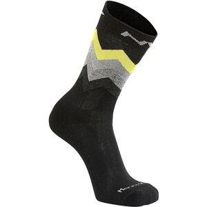 Northwave Core High Socks Herren black/yellow fluo black/yellow fluo