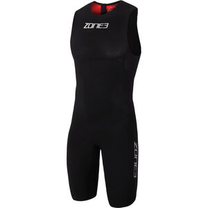 Zone3 Streamline Sleeveless Swimskin Herren black/red black/red