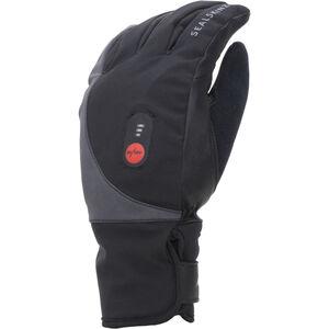 Sealskinz Waterproof Beheizte Fahrradhandschuhe black black