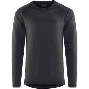 POC Resistance DH LS Jersey Herren carbon black carbon black