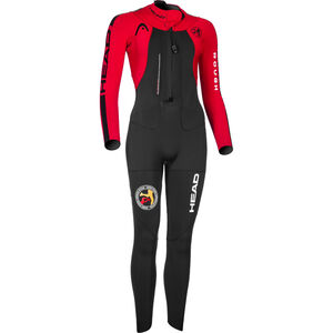 Head ÖTILLÖ Swimrun Rough Suit Damen black/red black/red