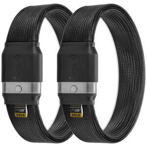 Litelok Twin Gold Sperren black black
