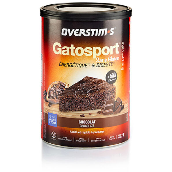 OVERSTIM.s Gatosport Gluten Free Kuchenbackmischung 400g Chocolate