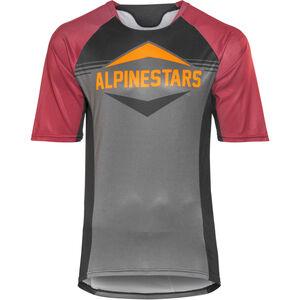 Alpinestars Mesa Shortsleeve Jersey Herren black rio red dark shadow black rio red dark shadow