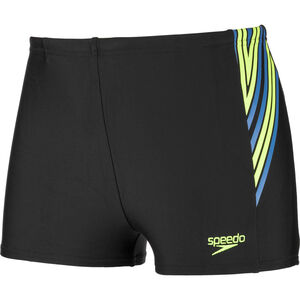 speedo Logo Panel Aquashorts Jungs black/green black/green