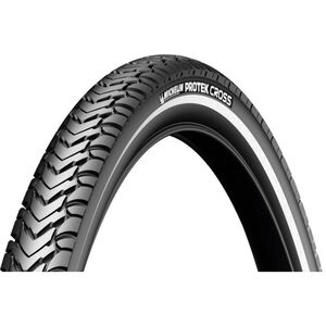 "Michelin Protek Cross Reifen 28"" Draht Reflex black"