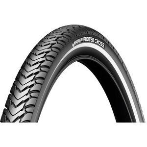 "Michelin Protek Cross Reifen 28"" Draht Reflex schwarz"