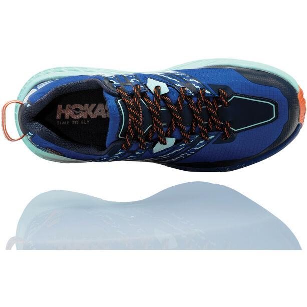 Hoka One One Speedgoat 3 Wp Running Shoes Damen soadlite blue/lichen soadlite blue/lichen