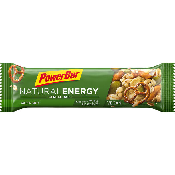PowerBar Natural Energy Cereal Bar Box 24x40g Süß & Salzig