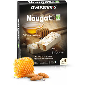 OVERSTIM.s Organic Nougat Box 4x25g Nougat