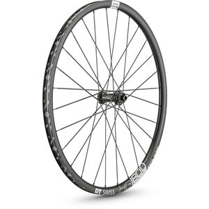 "DT Swiss HG 1800 Spline 25 Vorderrad 27.5"" Disc CL 100/12mm Steckachse black black"