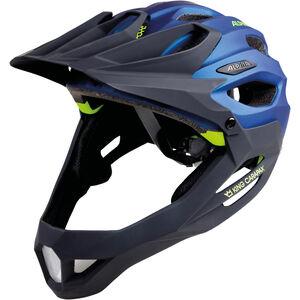 Alpina King Carapax Helmet darkblue-neon bei fahrrad.de Online