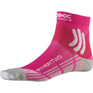 X-Socks Sky Run Two Socks Damen pink pink