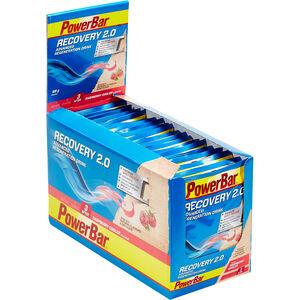 PowerBar Recovery Regeneration Drink 2.0 Box Raspberry Cooler 20 x 88g
