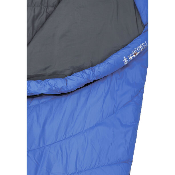Millet Baikal 750 Sleeping Bag sky diver/ultra blue