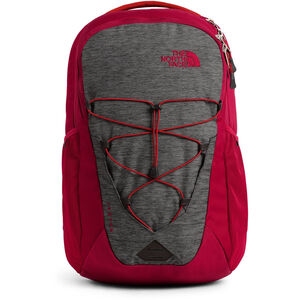 The North Face Jester Backpack tnf dark grey heather/cardinal red tnf dark grey heather/cardinal red