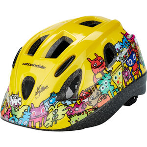 Cannondale Burgerman Colab Helmet Kinder yellow yellow