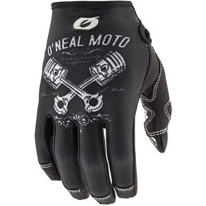 ONeal Mayhem II Gloves Pistons black/white