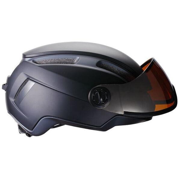 BBB Indra Speed 45 BHE-56F Helm Faceshield matt schwarz
