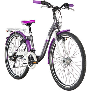 s'cool chiX 26 21-S steel Darkgrey/Violett bei fahrrad.de Online